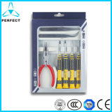 Cr-V Steel PP Handle Security Screwdriver Bit Set