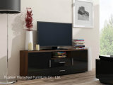 Functional TV Cabinet with High Gloss Front Panel (HHTV07)