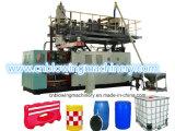 Machine en plastique de soufflage de corps creux de réservoir d'eau d'extrusion matérielle de HDPE de 3 couches
