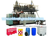 3 Schicht HDPE materieller Strangpresßling-Plastikwasser-Tank-Blasformen-Maschine