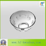 Ciotola di vetro di goffratura decorativa per i centri Kb-Hn0166