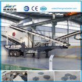 Planta trituradora móvil residuos de la construcción
