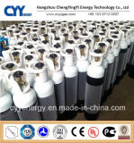 cilindro de gás do hidrogênio 150bar/200bar do acetileno do Lar CNG do nitrogênio do oxigênio do aço sem emenda de uso 50L médico