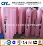 cilindro de gas del hidrógeno 150bar/200bar del acetileno del lar CNG del nitrógeno del oxígeno del acero inconsútil del uso médico 50L