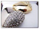 Mecanismo impulsor en forma de corazón del flash del USB de la joyería