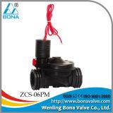 """Bona Zcs-06pm 3/4 válvulas de """" 1 """" solenóide de nylon da irrigação"""