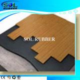 Revêtement en caoutchouc sous-couche acoustique certifié SGS