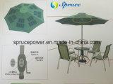caricatore solare 25W per l'ombrello di spiaggia