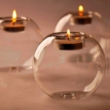 Classic Portable Crystal Glass Wedding Party Home Decor Candle Holder
