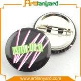 Divisa promocional de aluminio del botón con insignia de la impresión