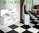 Gebäude Material, Super White und Black Polished und Rustic/Glazed Ceramic Floor Wall Tile