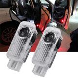 Lumière de porte bienvenue sans fil de la lampe DEL d'ombre d'ordinateur de secours de logo de projecteur de laser de véhicule
