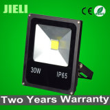 공장 Outlet Black 30W COB Outdoor Light LED