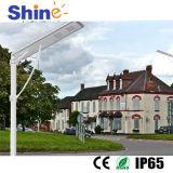 Alle in einem 20W LED Solarstraßenlaternemit hoher Helligkeit