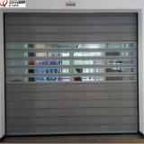 Голодайте сверните вверх трудную материальную высокоскоростную дверь гаража обеспеченностью