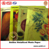 은 또는 Gold Metallized Pet Photo Paper