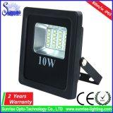 새로운 호리호리한 10W SMD LED 투광램프 80lm/W