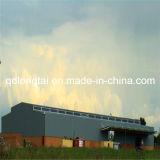 가벼운 강철 프레임 작업장 건물 안쪽에 기중기