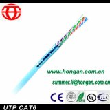 UTP CAT6 met 4 Communicatie van Gegevens Paren van de Kabel van China