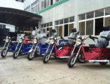 Tres motocicletas / triciclo de pasajeros 150cc de 4 Persona (DTR-10)
