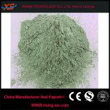 Polvo del carburo de silicio del verde del material refractario para la construcción