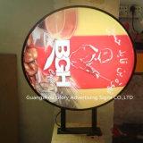 Круглый знак Signage СИД светлой коробки акриловый