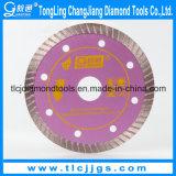 極度の薄い円のアスファルトコンクリートは鋸歯を