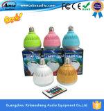 Drahtloses Bluetooth Speaker und LED Light Bulb L2. Niedriger Preis-Förderung