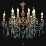 Lámpara cristalina de la vela clásica europea (MD-2027/6+6)