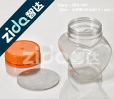 رخيصة شفّافة واضحة بلاستيكيّة محبوب يستطيع مرطبان لأنّ طعام مع [إي] [أبن ند]