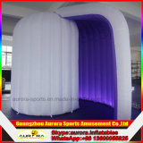 Bewegliche aufblasbare Foto-Kabine, aufblasbares Würfel-Zelt, LED-aufblasbarer Foto-Stand