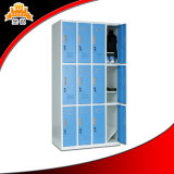 GymおよびSchoolのための現代Design Steel Metal 12 Compartment Locker