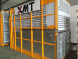 Élévateur de construction de construction de matériaux et de passagers d'inverseur de fréquence de 2 tonnes