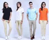 Camisa de polo unisex del OEM de la manera del algodón respetuoso del medio ambiente barato al por mayor de la tela