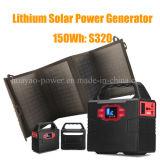 150wh het draagbare Zonne het Li-Polymeer van de Generator Systeem van de Batterij met Zonnepaneel