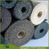 EPDM Speckles Rubber Roll Flooring para esportes / ginásio