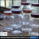 فاخر [فوود كنتينر] زجاجيّة تخزين زجاجة مع أغطية زاويّة