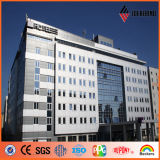 Ideabond Plus Silver PVDF Aluminum Composite Panel per Curtain Wall (AF-403, AF-400)