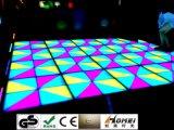 1*1 salões de baile do diodo emissor de luz dos medidores DMX 512 RGB para a luz da dança do efeito do disco dos salões de baile do casamento