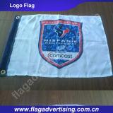 Algum Logotipo Disponível Costume Companhia que anuncia a bandeira e a bandeira