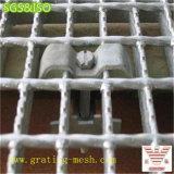 Grille d'acier galvanisée par grille fermée d'acier de barre