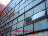 Profilo della finestra di scivolamento e dell'alluminio del portello