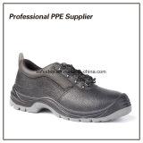 Zapatos de seguridad baratos de la punta de acero ancha