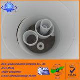 Conduttura di ceramica/tubo dell'allumina resistente all'uso industriale