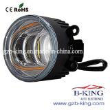 diodo emissor de luz Foglight do carro 3.5inch com função de giro