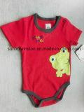 Il bambino all'ingrosso copre 100% i vestiti appena nati del bambino del cotone, pagliaccetti del bambino