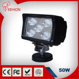 "6 "" квадратный 50W CREE СИД Work Light"