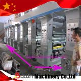Machine d'impression de gravure de papier de roulis