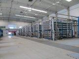 Módulo a presión de la membrana del uF aplicado en el tratamiento de aguas municipal