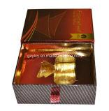 Коробка упаковки бумаги дух Shinely бумаги золота верхнего сегмента